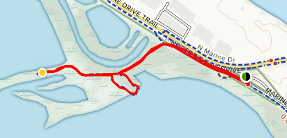 Smith and Bybee Wetlands Trail Map