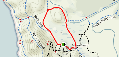 Lizard Rock Trail Map