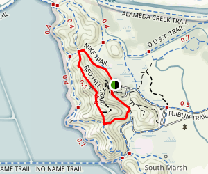 Red Hill Loop Trail Map