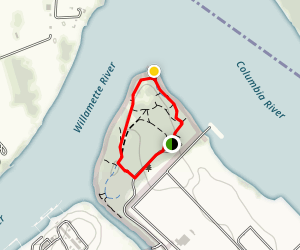 Kelley Point Park Loop Map