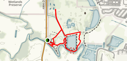 Jackson Bottom Wetlands Loop Trail Map