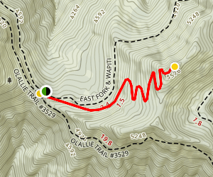 Horsepasture Mountain Trail Map
