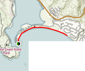 Doran Beach Trail Map
