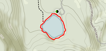 Hideaway Lake Map