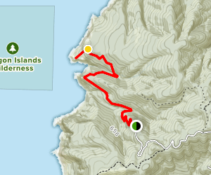Hart's Cove Trail Map