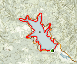 Henry Hagg Lake Trail From SW West Shore Drive Map