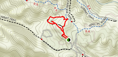 Rock City, Wind Caves, and Sentinel Rock Map