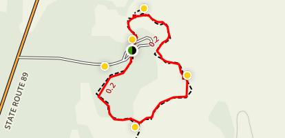 Subway Cave Trail Map