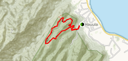 Hauula Loop Trail Map