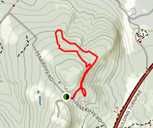 Mt. Teneriffe Trail Map