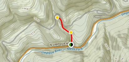 Fall Creek Falls Trail Map