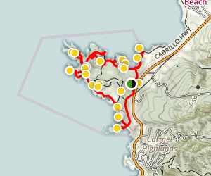 Point Lobos Loop Trail Map