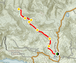 Meyers Homestead Trail Map