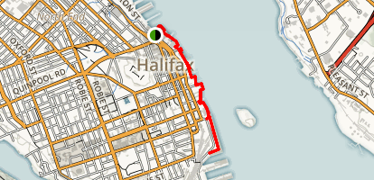 Halifax Waterfront Boardwalk Map