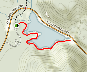 Devils Lake Trail Map