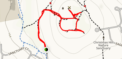 Christmas Hill Trail Map