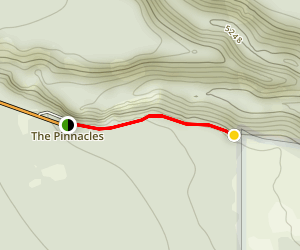Pinnacles Valley Trail Map