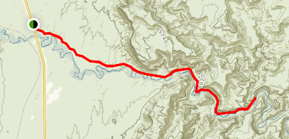 Woodside Lower Price River Road Map