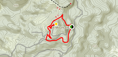 Cape Mountain Loop Map