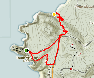 Cape Meares State Park Loop Map