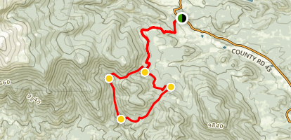 Slaughterhouse Gulch Trail Map