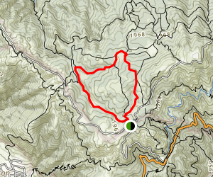 Benstein and Cataract Loop Trail Map
