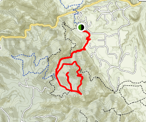 Plymouth Mountain Trail Map
