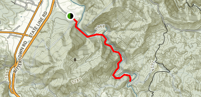 Doe River Gorge Trail [PRIVATE PROPERTY] Map