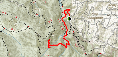 Tucker Trail Map