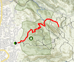 Hidden Valley Trail Map
