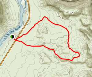 Amphitheater Loop Trail Map