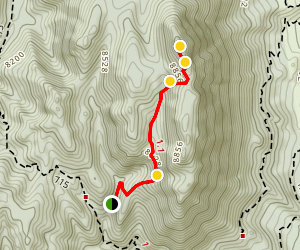 Mount Herman Trail Map