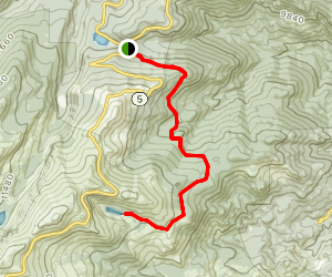 Mount Evans Resthouse Trail Map