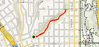 Maple Canyon Trail Map