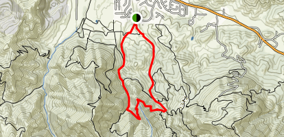 Back Canyon Map