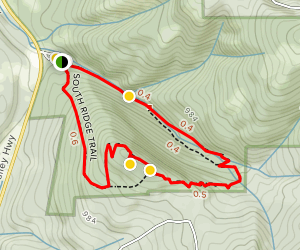 Plunkett Creek Loop Trail Map
