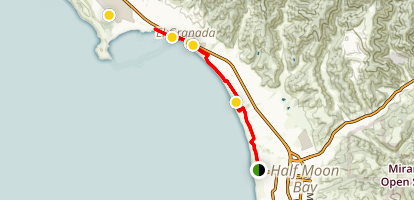 Coastside Trail Map