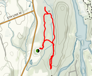 Teal Trail and Upland Loop Map