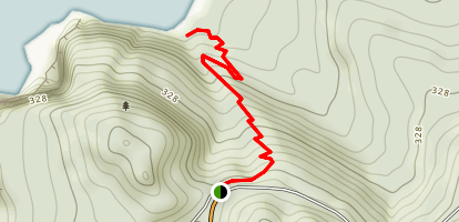 Cape Meares Beach Trail Map