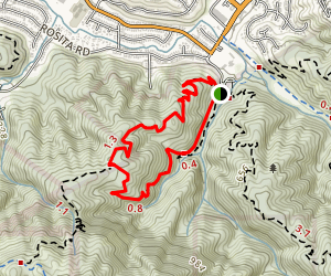 Brooks Falls Loop Map