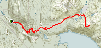 Panorama Ridge Map