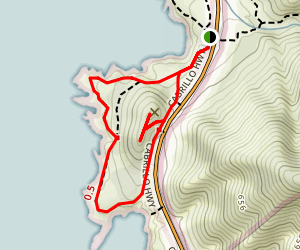 Soberanes Point and Whale Peak Map