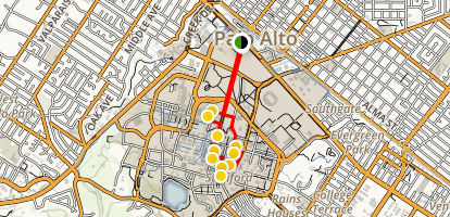 Stanford Campus Walk Map