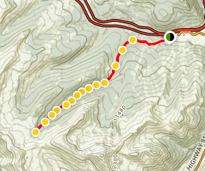 Janet's Cabin Trail Map