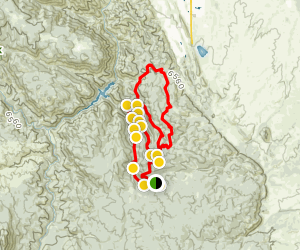 Indian Creek and Steven's Gulch Loop Trail Map
