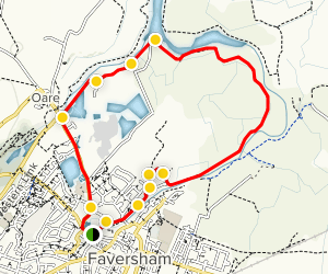 Faversham Loop Map