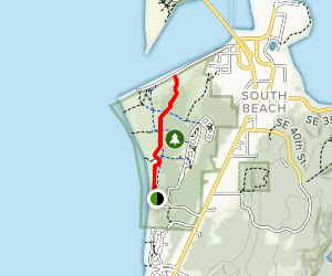 Old Jetty Trail Map