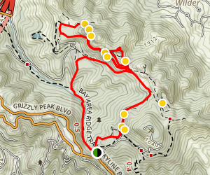 Sibley Volcanic Trail Map