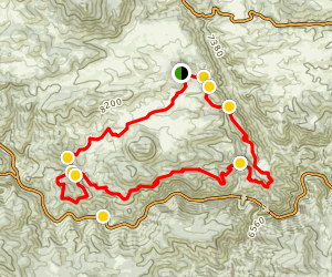Centennial Cone Trail Map