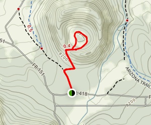 Walker Lake Trail Map